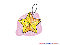 Star free Cliparts New Year