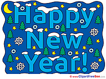 Text in Image New Year Illustrations for free