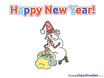 Wishes New Year free Images download