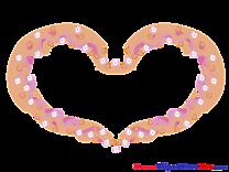 Flowers Pics Hearts Illustration