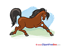 Animal printable Illustrations Horse