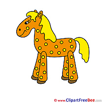 Cliparts Animal Horse for free