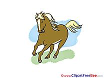 Gallop Clip Art download Horse