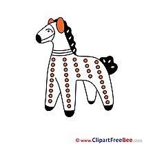 Toy download Clipart Horse Cliparts