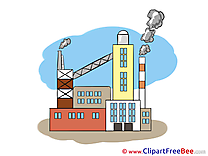 Building Factory Clipart free Illustrations