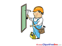 Carpenter Clip Art download for free