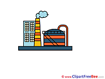 Chemical Plant Clip Art download for free