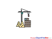 Crane Building free Cliparts for download