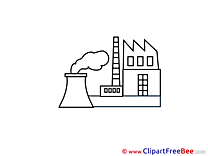 Factory Clipart free Illustrations