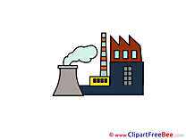 Nuclear Power Plant Clipart free Illustrations