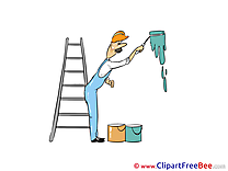 Painter Ladder free Illustration download
