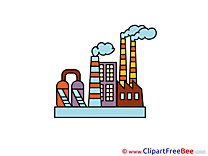 Smoke Factory Clipart free Illustrations