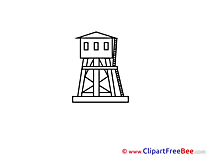 Tower Clipart free Illustrations
