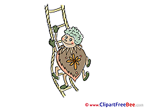 Ladder Bug download printable Illustrations