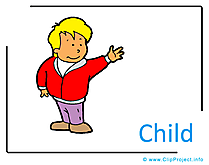 Child Clipart Image free - Kindergarten Clipart Images for free