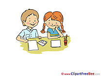 Drawing Lesson Kids Cliparts Kindergarten for free