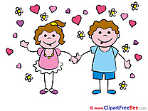In Love Kids Kindergarten download Illustration