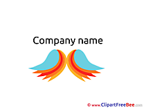 Angel Wings free Cliparts Logo