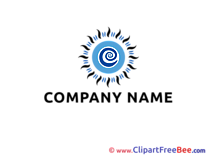 Blue Pics Logo free Image