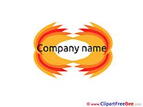 Company Pics Logo Illustration