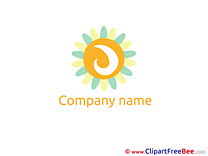 Sun Logo download Illustration