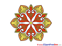 Clipart Mandala free Images