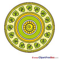 Cosmos Clip Art download Mandala