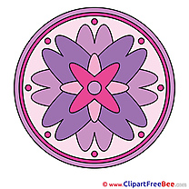 Symbol Clipart Mandala Illustrations