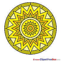 Symbol free Illustration Mandala