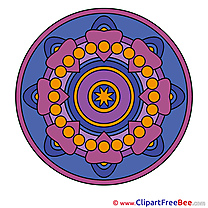 Universe Mandala Illustrations for free