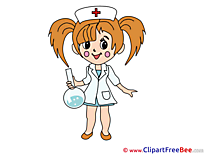 Flask Nurse free Cliparts for download