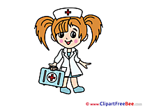 Girl Nurse download printable Illustrations