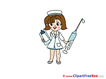 Nurse Medicine printable Illustrations for free