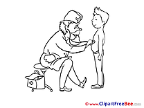 Pediatrician Boy Doctor free Illustration download
