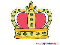 King's Crown Clipart free Illustrations