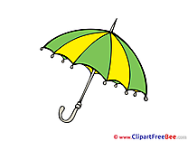 Umbrella Cliparts printable for free