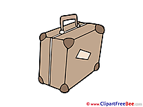 Valise Pics printable Cliparts