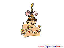 Cake Candle printable Party Images