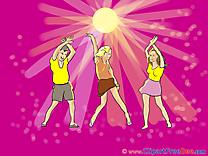 Dancers Disco Pics Party free Cliparts