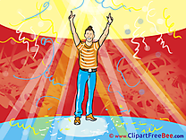 Disco Boy Clipart Party free Images