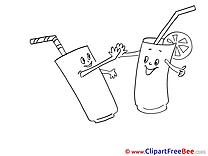Glasses free Illustration Party