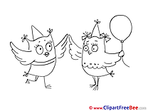 Owls Party free Images download