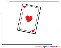 Playing Card Party Illustrations for free