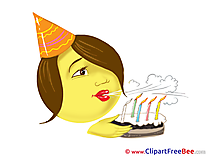 Smile Cake Party Illustrations for free
