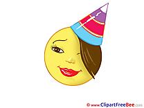 Smile Party Hat Pics free Cliparts