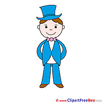 Gentleman Clipart free Illustrations