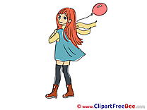 Manga download Clip Art for free