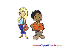 People printable Illustrations for free