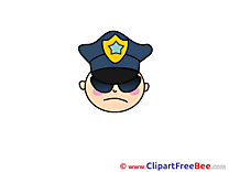 Policeman download printable Illustrations