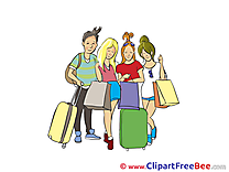 Shopping People Clipart free Image download